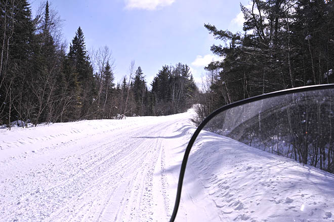 algoma snowmobile trails elliotlake