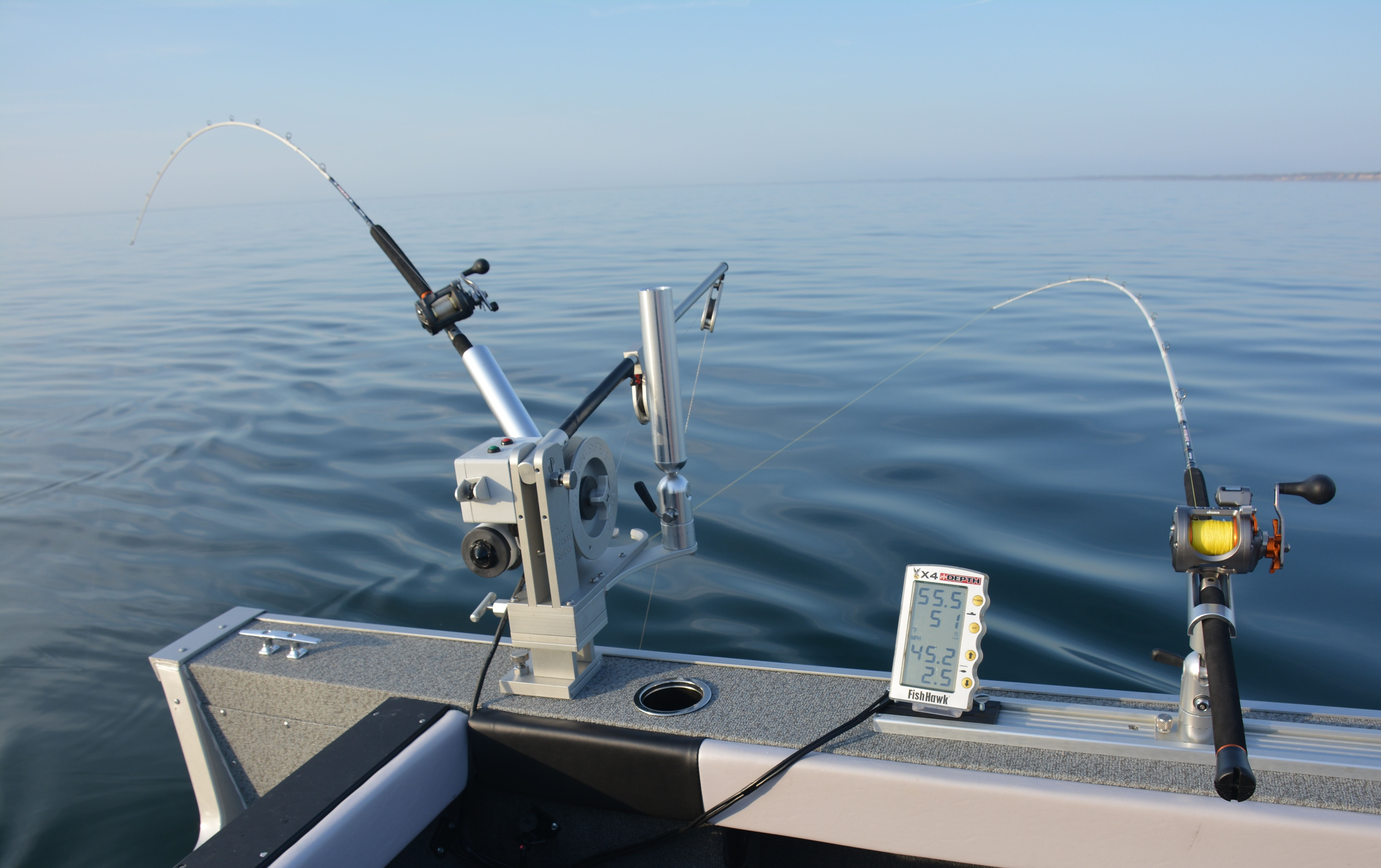 Attractor trolling for lake trout try these tips tricks for How to fishing