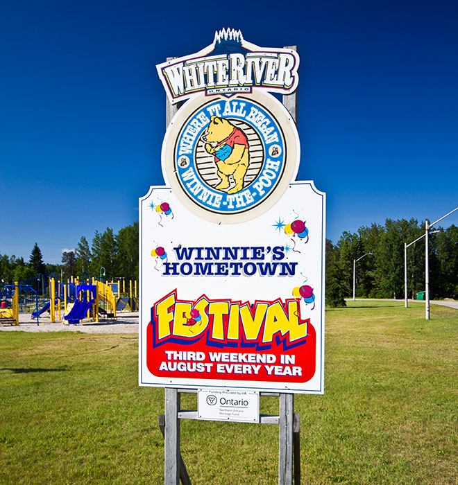 Winnie's Hometown Festival, White River Ontario