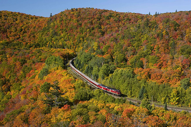 agawa canyon fall tour low