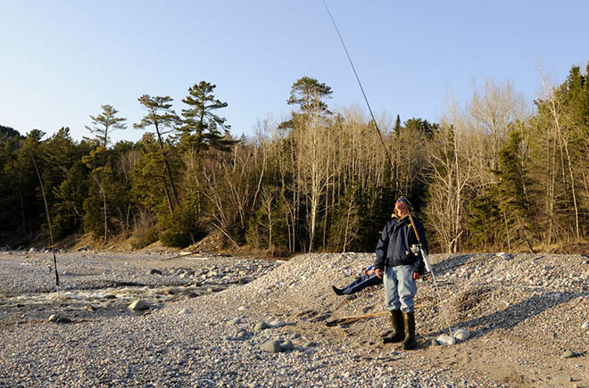 Algoma chrome fishing for trout and salmon northern for Fishing lake superior