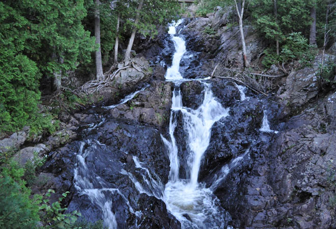 crystal falls hiawatha highlands