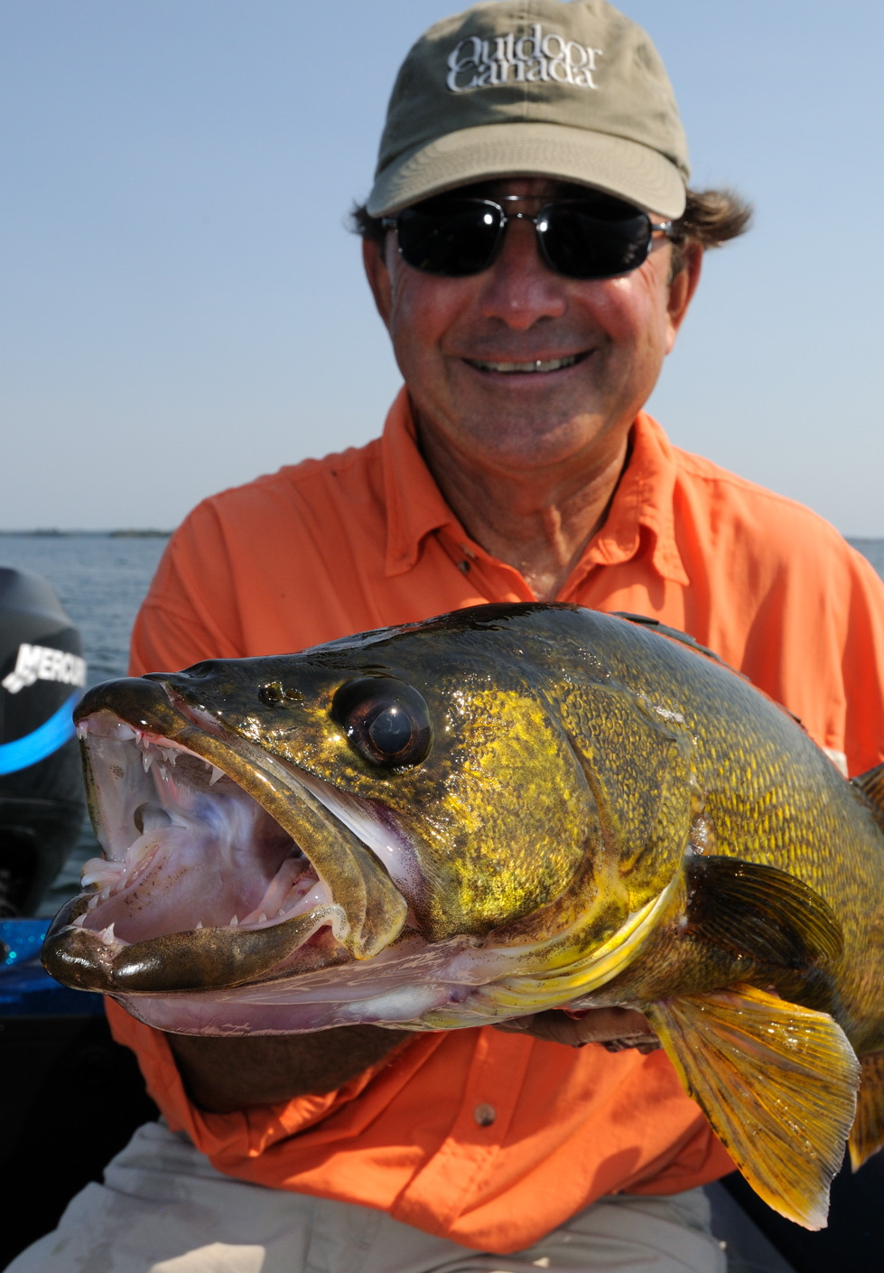 trophy 29-inch walleye