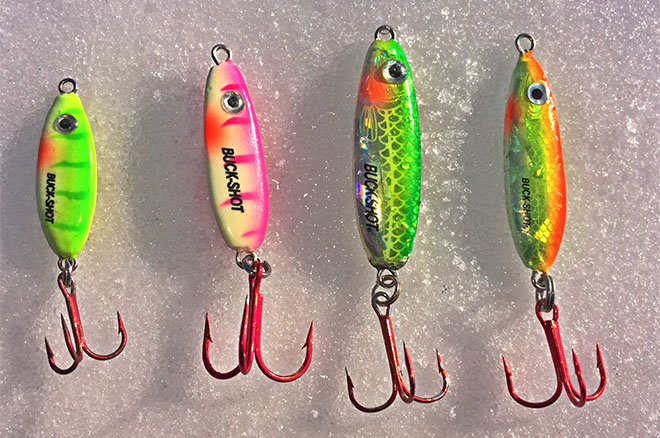 Image gallery ice fishing lures for Walleye fishing jigs