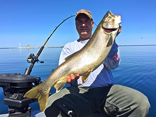 Where the lakers haunt fishing tips for catching lake for Lake trout fishing tips