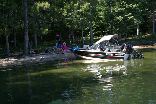 lakeofthewoods islands boating