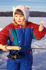 following a set of guidelines will help to instill children with a love for ice fishing