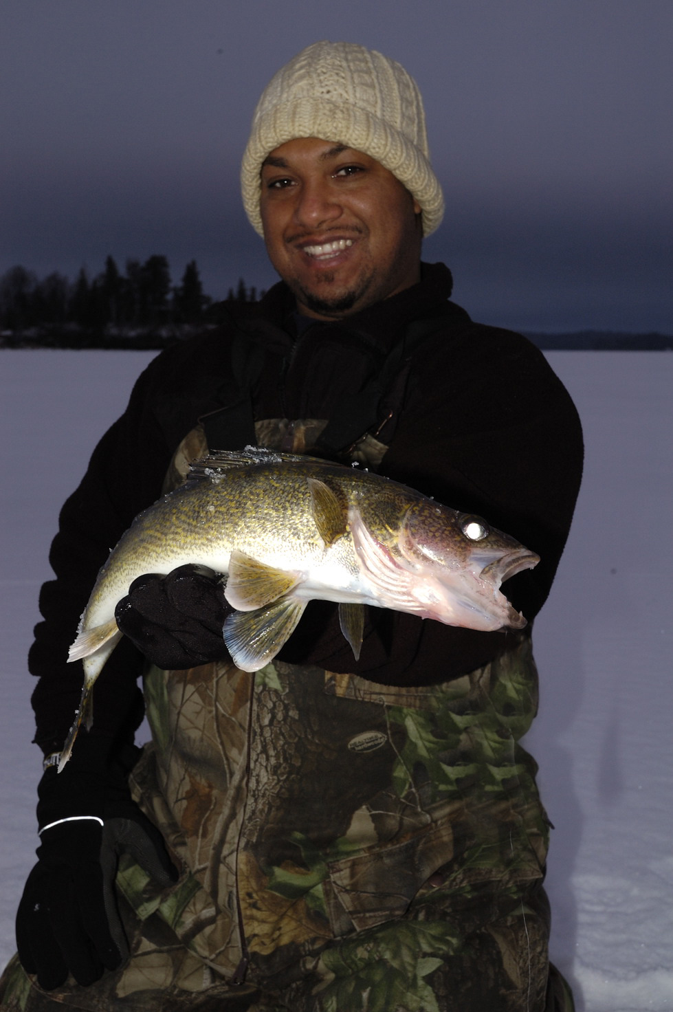 Timing Clear Water Walleyes In Northern Ontario
