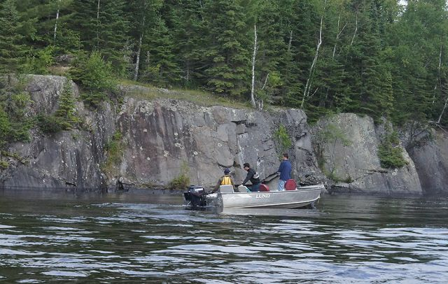 Lake trout fishing on one of Ontario's top five trout lakes.