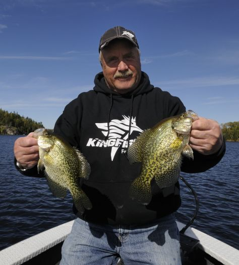 Steve Green says that part of his fascination with black crappies stems from the fact that Northern Ontario offers so many fantastic fishing opportunities
