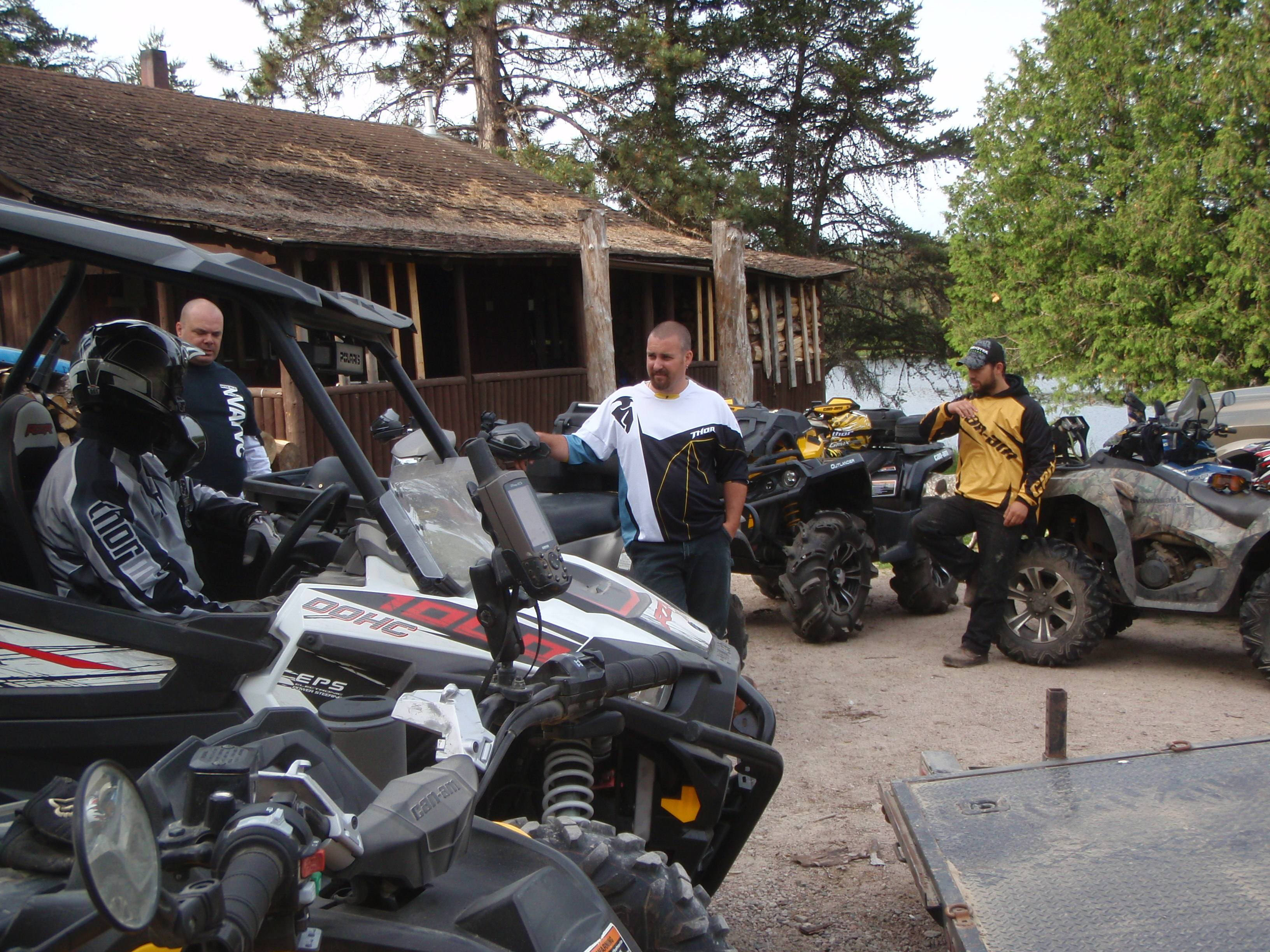 ritchie falls ready to ride smaller