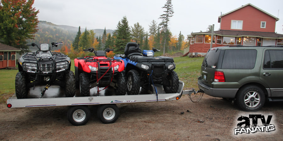 ATVing in Mattawa VMUTS 2
