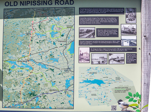 old nipissing road map r