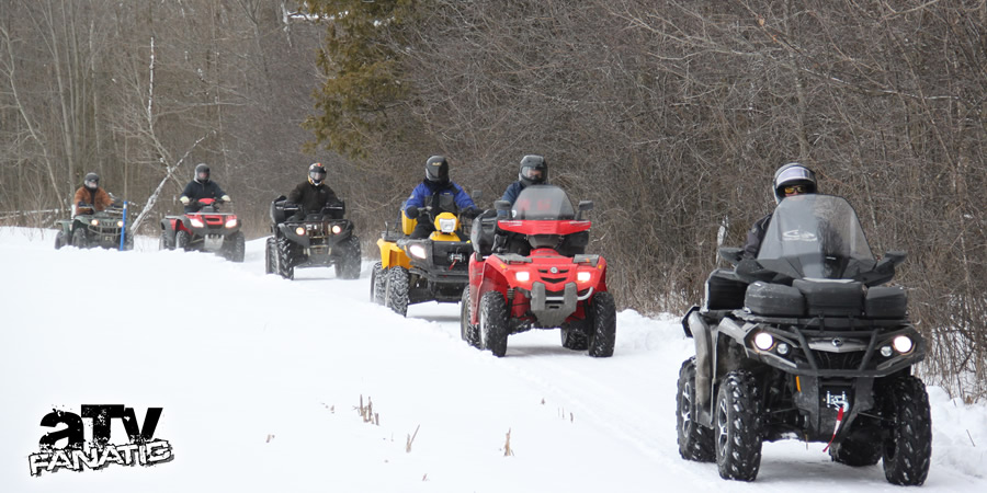 Fantastic Winter Atv Trail Great People And A Worthy