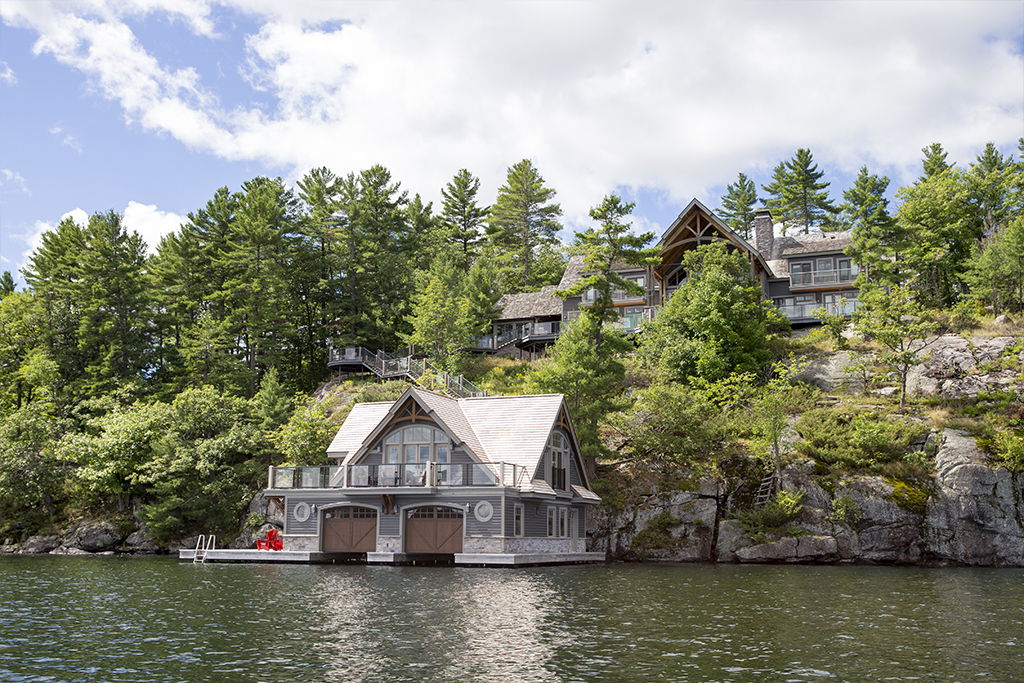 Cottages lake ontario realty pictures to pin on pinterest for Lakefront cottage plans canada