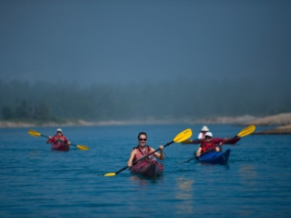 Kayaking in the North Channel is a great way to get up-close and personal with nature