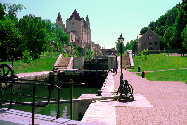 Rideau Canal recoloured