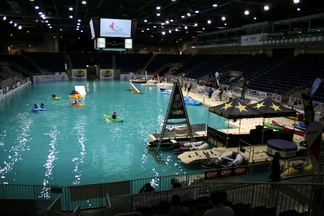 Break out of your winter bubble international boat show for Pool show 2014