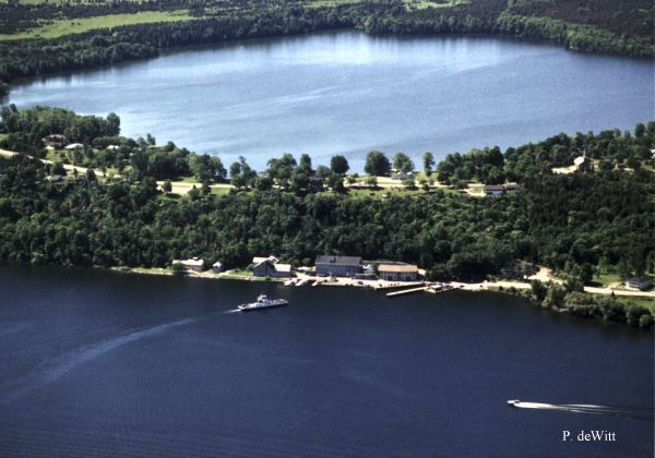 dewitt LAKE ON THE MOUNTAIN AERIAL