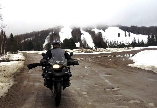 Leaving Searchmont