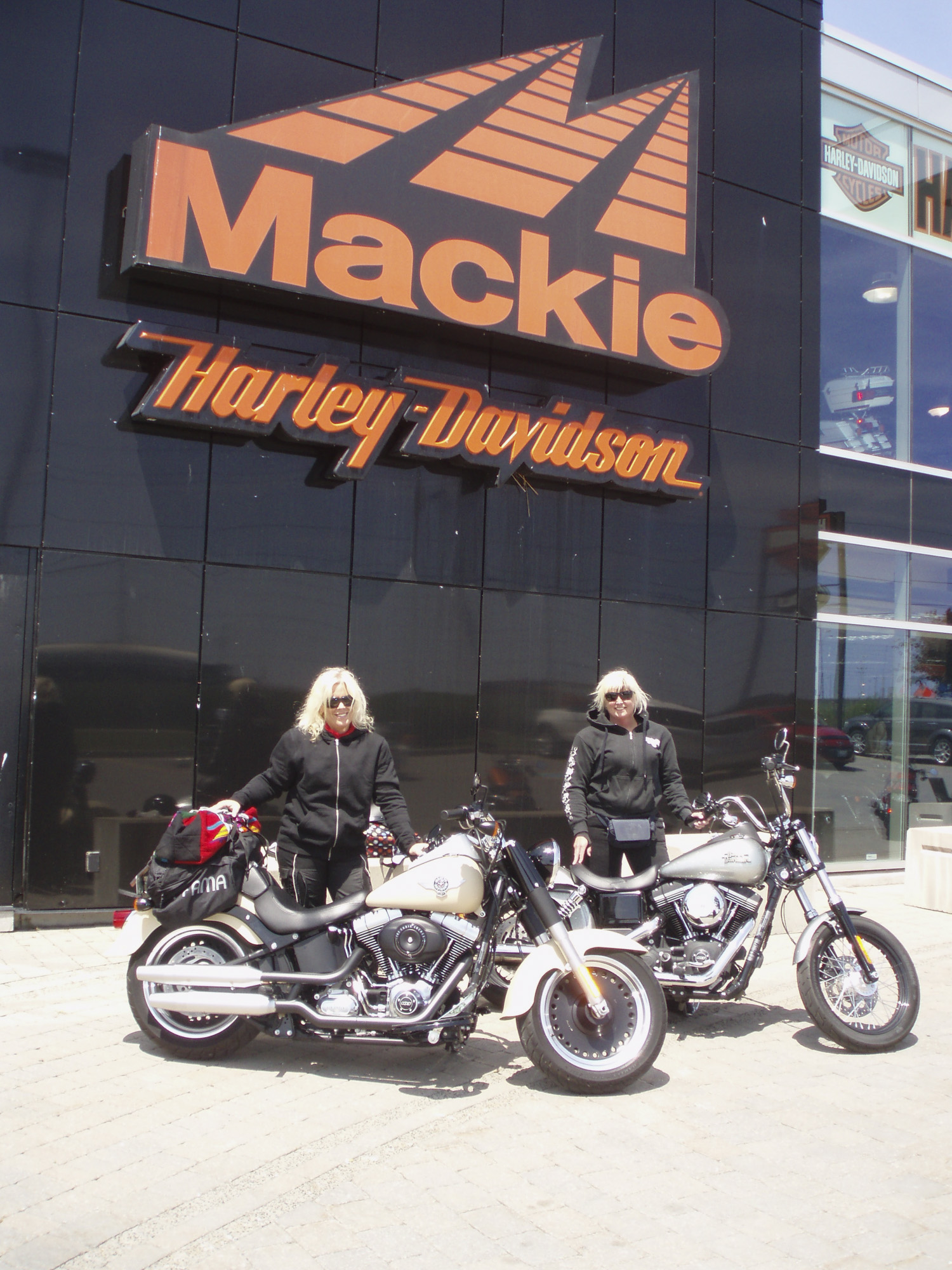 Out of Towners Treated to Canadian Hospitality on Ontario Motorcycle