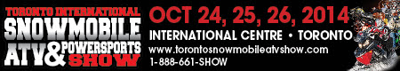 2014 Snow and ATV Show Banner