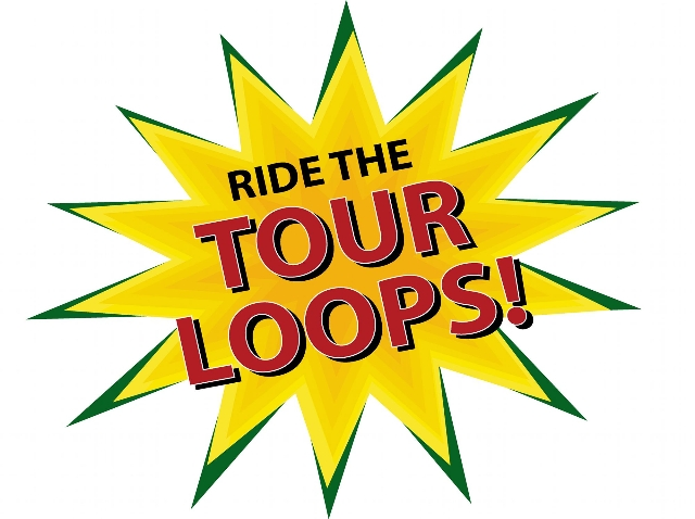 Ride the tour loops Starburst