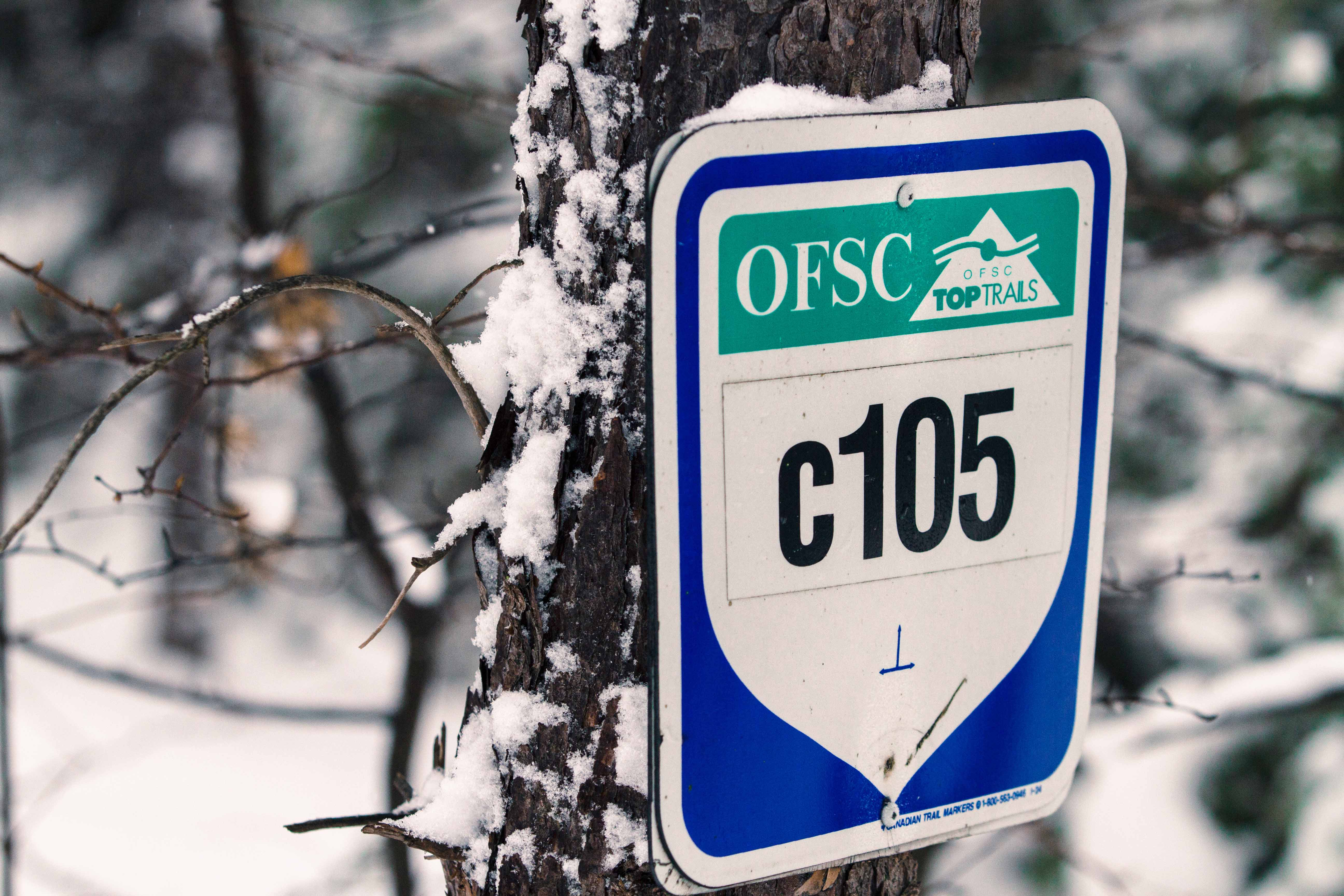 OFSC TOP Trail Sign