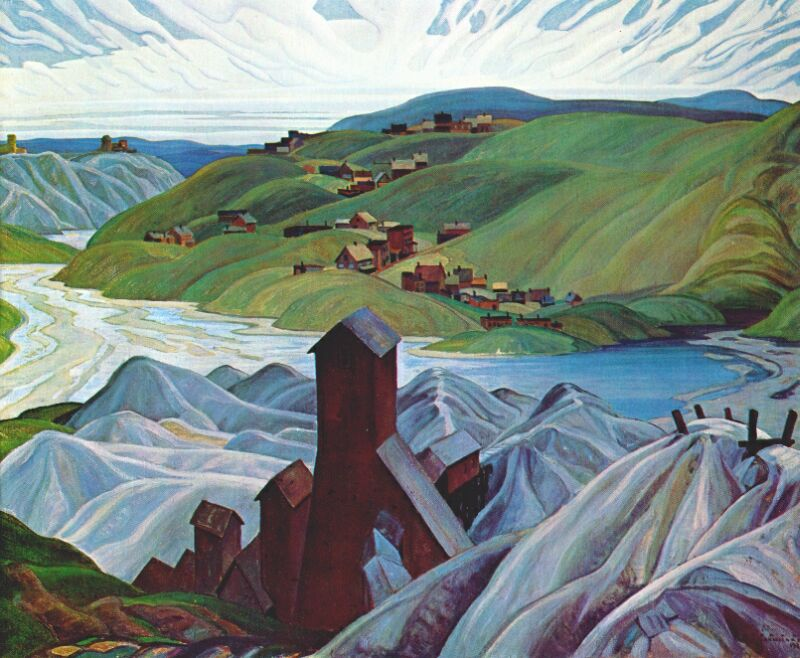 A Northern Silver Mine- Franklin Carmichael A.D.1930