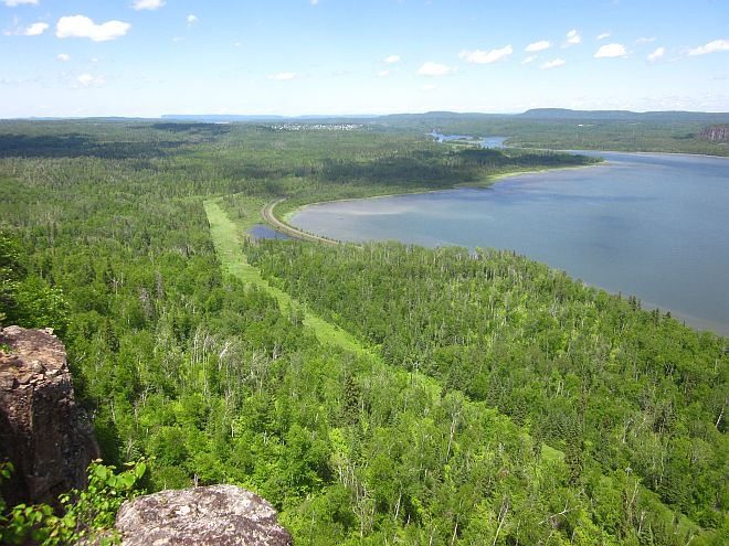 Nipigon Trail superior view