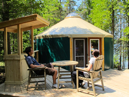 Bruce-Peninsula-National-Park-Yurt