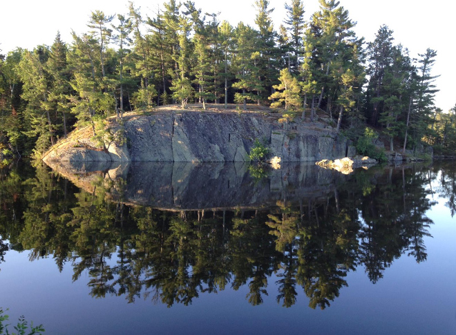 "The ""Rock"" at Crow Rock Lodge on Lake of the Woods"