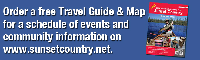 Order a free Travel Guide with a complete list of Events in NW Ontario
