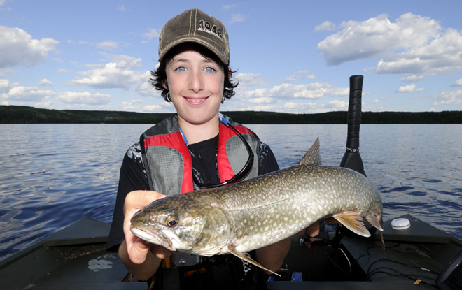 Northwest Ontario has the single largest concentration of lake trout lakes