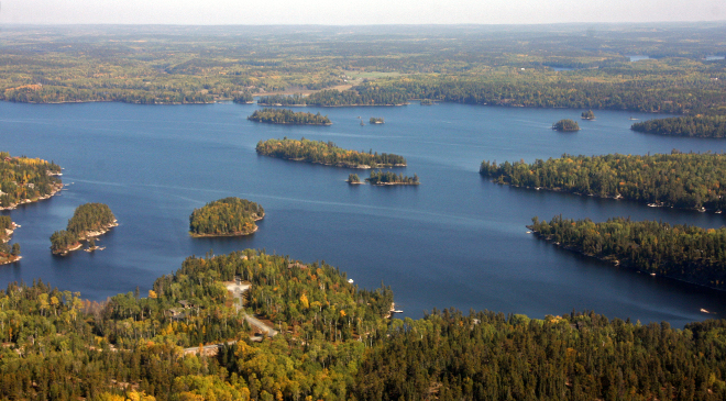 Black Sturgeon Lake is one of the thousands of lakes in Northwest Ontario
