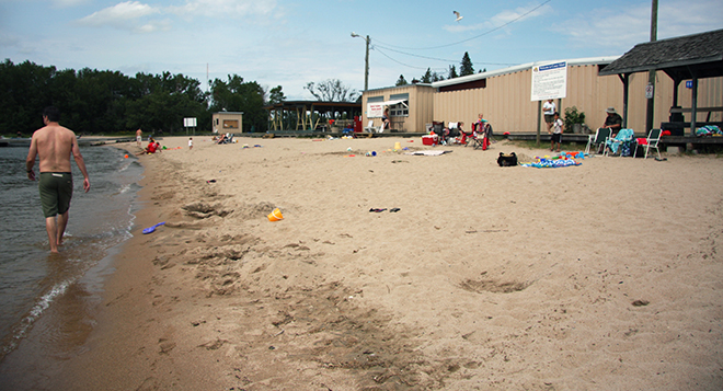 Besides a great beach, Coney Island has a canteen, playground, BBQ area and grassy area.