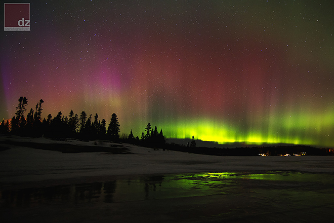 March 18, 2015 Northern Lights captured by Day Vid Z Photography