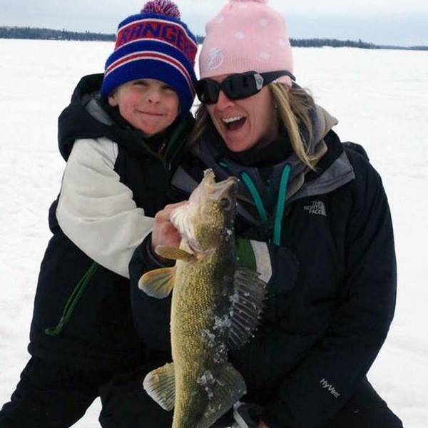 Take part in the license-free ice fishing weekend in Ontario