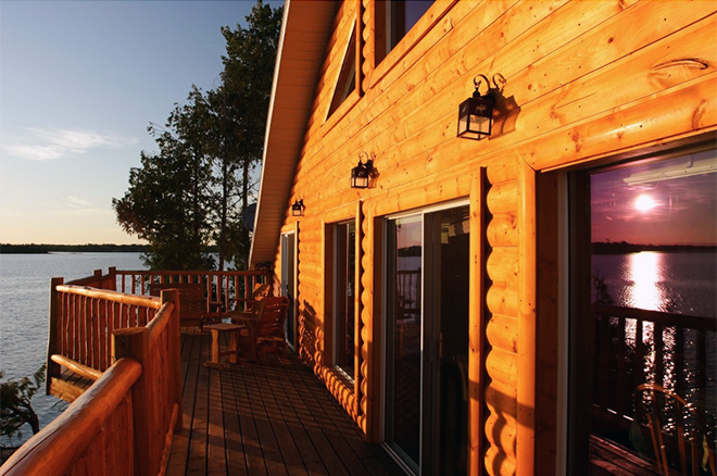 Enjoy the view from Cedar Point Lodge