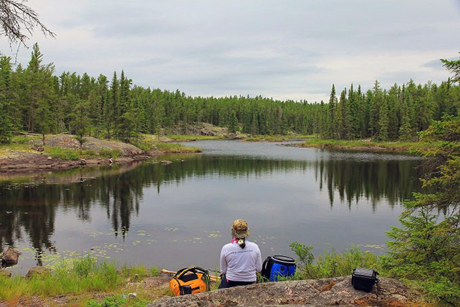 Red Lake Outfitters' Harlan Schwartz calls Stupbeck a true Canadian boreal wilderness experience. Photo: Harlan Schwartz