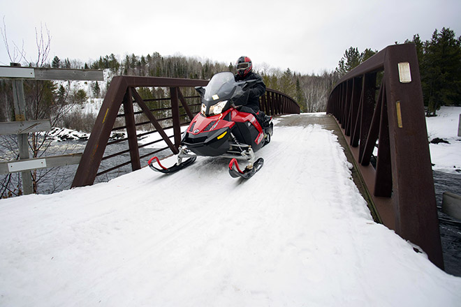 Atikokan Sno-Ho Club trails. Photo: Damien Gilbert