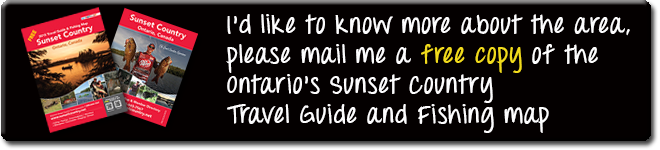Order a free Vacation Planner to Ontario's Sunset Country