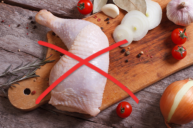 Raw poultry and eggs are not allowed into Canada at this time