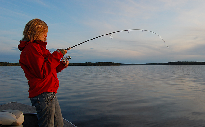 Using a guide lets you concentrate on just fishing - and enjoying the scenery!