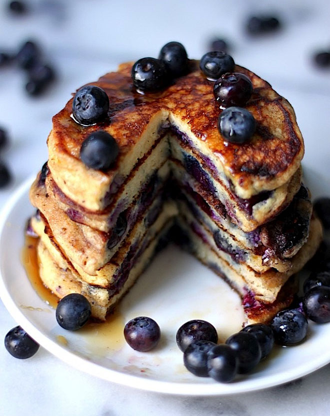 The blueberry pancakes of your dreams!
