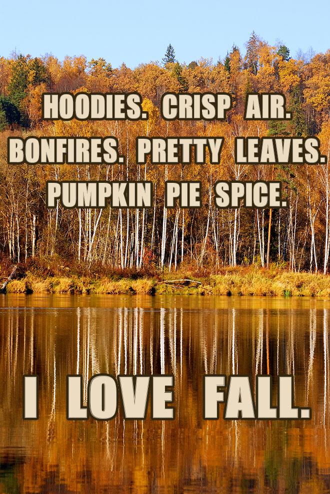 Fall Bucket list