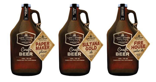 Take home a growler of the three flagship craft beers.