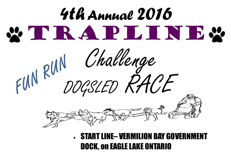 Trapline Dog Sled Race