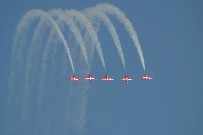 The Canadian Snowbirds were just one of the acts at the Kenora Air Show