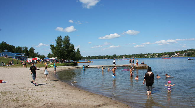 Garrow Beach on Rabbit Lake